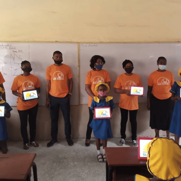Sun Books and Navitas Education Trust helping to improve Nigeria's literacy rate